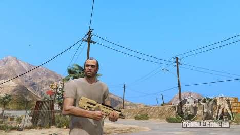 GTA 5 O TAR-21 из Battlefield 4 segundo screenshot