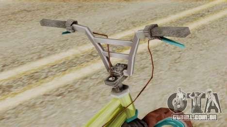Crap BMX para GTA San Andreas vista direita