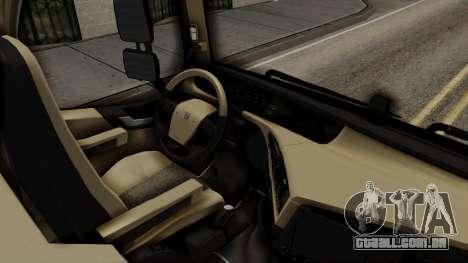 Volvo FH Euro 6 10x4 Low Cab para GTA San Andreas vista direita