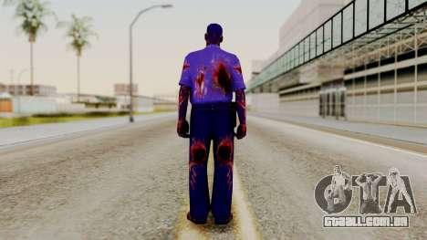 FNAF Purple Guy para GTA San Andreas terceira tela