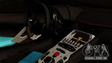 Lamborghini Aventador LB Performance para GTA San Andreas vista direita