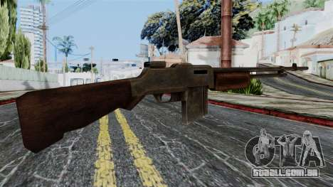 BAR 1918 from Battlefield 1942 para GTA San Andreas segunda tela