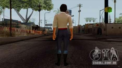 Eric (The Little Mermaid) para GTA San Andreas terceira tela