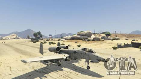 GTA 5 A-10A Thunderbolt II 1.1 quarto screenshot