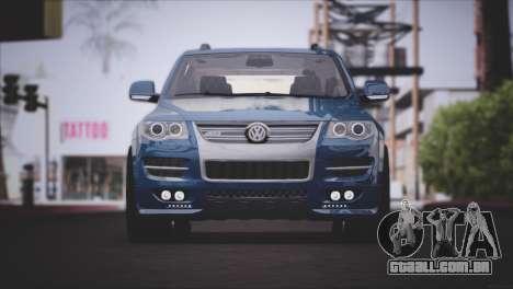 Volkswagen Touareg R50 2008 para GTA San Andreas esquerda vista