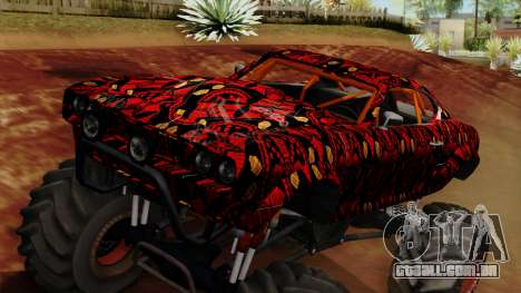 The Batik Big Foot para GTA San Andreas vista direita