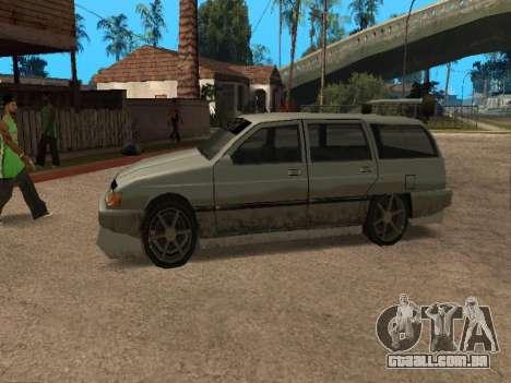 New Solair para GTA San Andreas esquerda vista