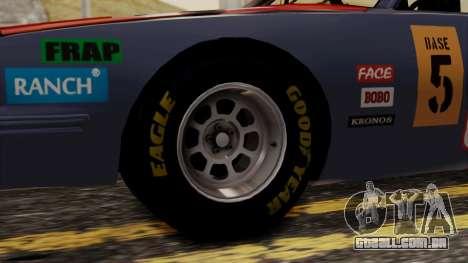 Pontiac GranPrix Hotring 1981 No Dirt para GTA San Andreas traseira esquerda vista