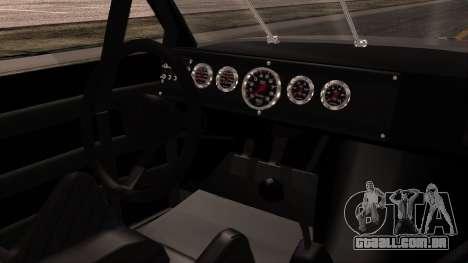 Pontiac GranPrix Hotring 1981 No Dirt para GTA San Andreas vista direita