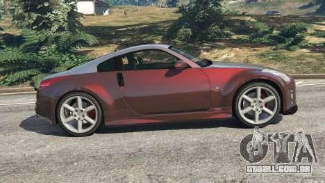 GTA 5 Nissan 350Z vista lateral esquerda