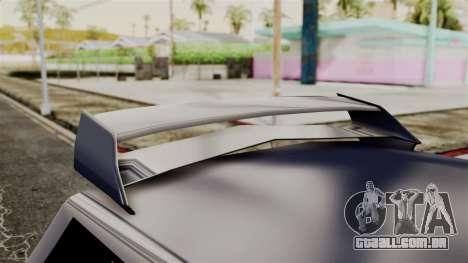 New Regina Extreme para GTA San Andreas vista traseira