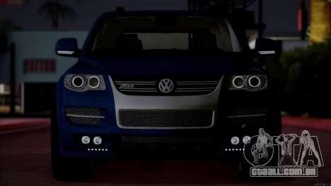 Volkswagen Touareg R50 2008 para GTA San Andreas vista interior