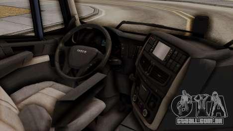 Iveco Truck from ETS 2 para GTA San Andreas vista direita