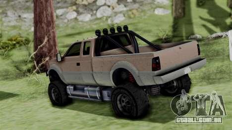 GTA 5 Vapid Sandking para GTA San Andreas esquerda vista
