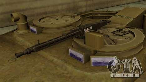 Leopard 1A5 para GTA San Andreas vista traseira