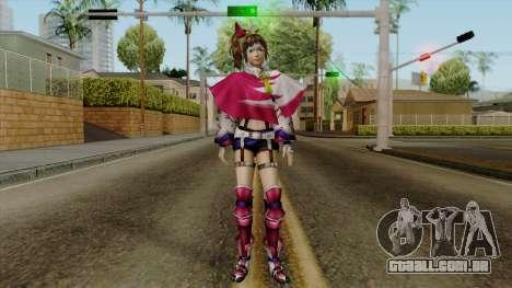 Sengoku Musou 3 - Kunoichi para GTA San Andreas segunda tela