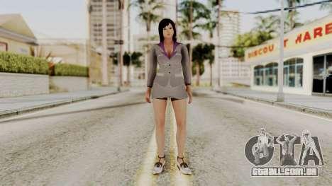 Kokoro Business Suit para GTA San Andreas segunda tela