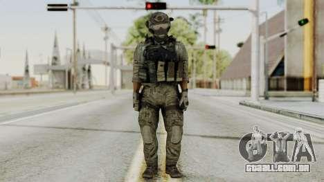 Derek Frost from CoD MW3 para GTA San Andreas segunda tela