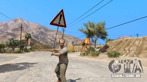 GTA 5 Sinal de estrada segundo screenshot