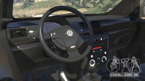 GTA 5 Volkswagen Fox v1.1 vista lateral direita