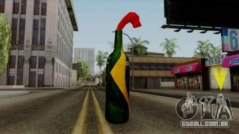 Brasileiro Molotov Cocktail v2 para GTA San Andreas segunda tela