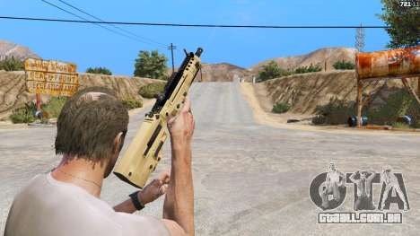 O TAR-21 из Battlefield 4 para GTA 5
