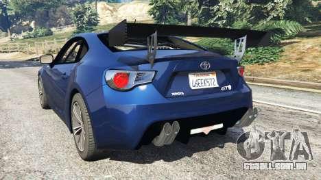 Toyota GT-86 v1.3 para GTA 5