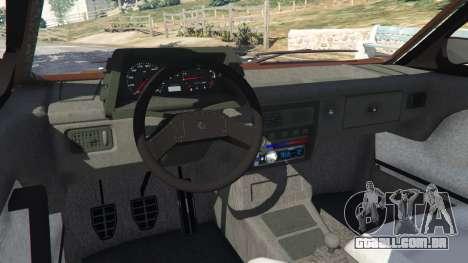 GTA 5 Volkswagen Gol GL 1.8 vista lateral direita