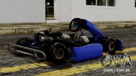 Crash Team Racing Kart para GTA San Andreas esquerda vista