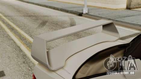 Subaru Impreza WRX STI HQ para GTA San Andreas vista traseira