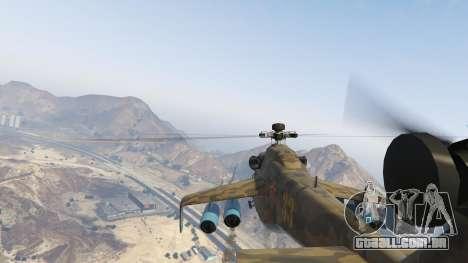 GTA 5 Mi 24 sexta imagem de tela
