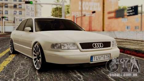Audi A8 D2 para GTA San Andreas