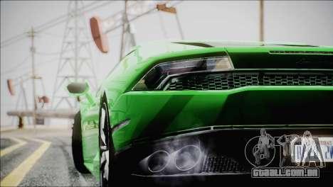 TASTY ENBSeries 0.248 para GTA San Andreas por diante tela