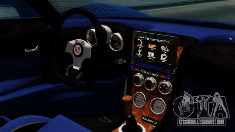 Saleen S7 para GTA San Andreas vista direita