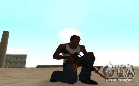 Nitro Weapon Pack para GTA San Andreas terceira tela