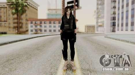 Christy Battle Suit 2 (Resident Evil) para GTA San Andreas segunda tela