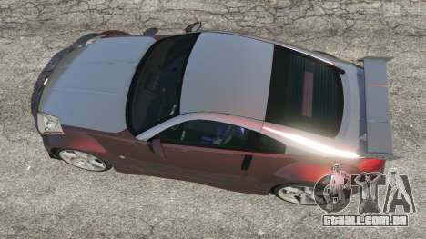 GTA 5 Nissan 350Z voltar vista