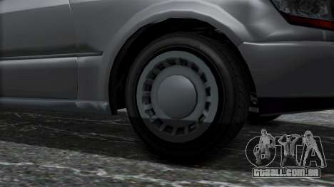 GTA 5 Albany Romero IVF para GTA San Andreas traseira esquerda vista