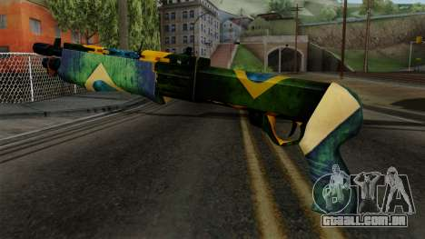 Brasileiro Combat Shotgun v2 para GTA San Andreas segunda tela