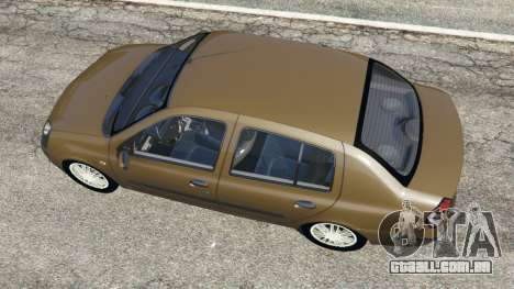 GTA 5 Renault Symbol 1.4L voltar vista