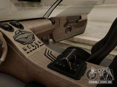 Infernus PFR v1.0 final para GTA San Andreas interior