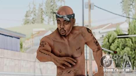 2Pac Skin HD v1.0 para GTA San Andreas