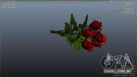 GTA 5 Um buquê de flores quinta imagem de tela