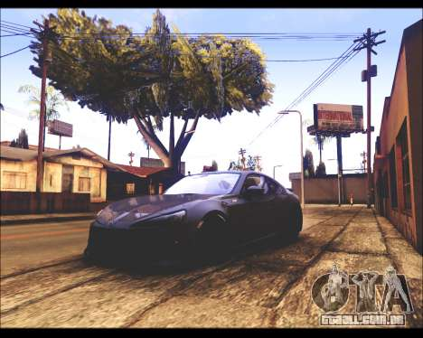 REXAS ENB v1 para GTA San Andreas terceira tela