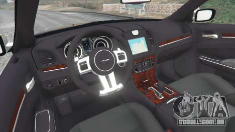 GTA 5 Chrysler 300C 2012 [Beta] traseira direita vista lateral
