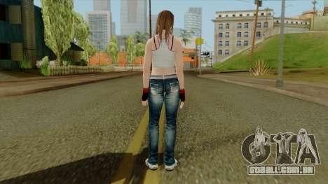 Dead Or Alive 5 Hitomi 1st Cos para GTA San Andreas terceira tela