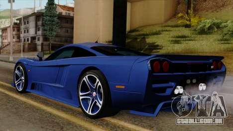 Saleen S7 para GTA San Andreas esquerda vista
