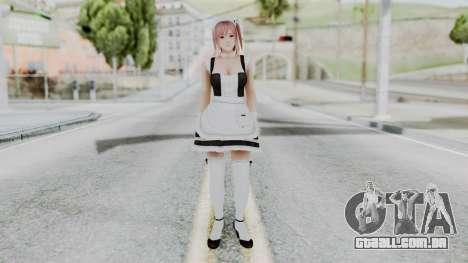 DOA 5 Honoka Maid para GTA San Andreas segunda tela