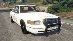 Ford Crown Victoria 1999 Sheriff v1.0 para GTA 5