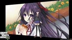 As telas de carregamento são no estilo anime